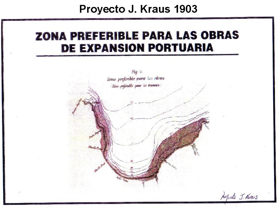 Foto 1: proyecto Krauss desde Punta Ángeles hasta Punta Gruesa